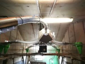 Optimat multiphase pneumatique - élevage porcs - Asserva