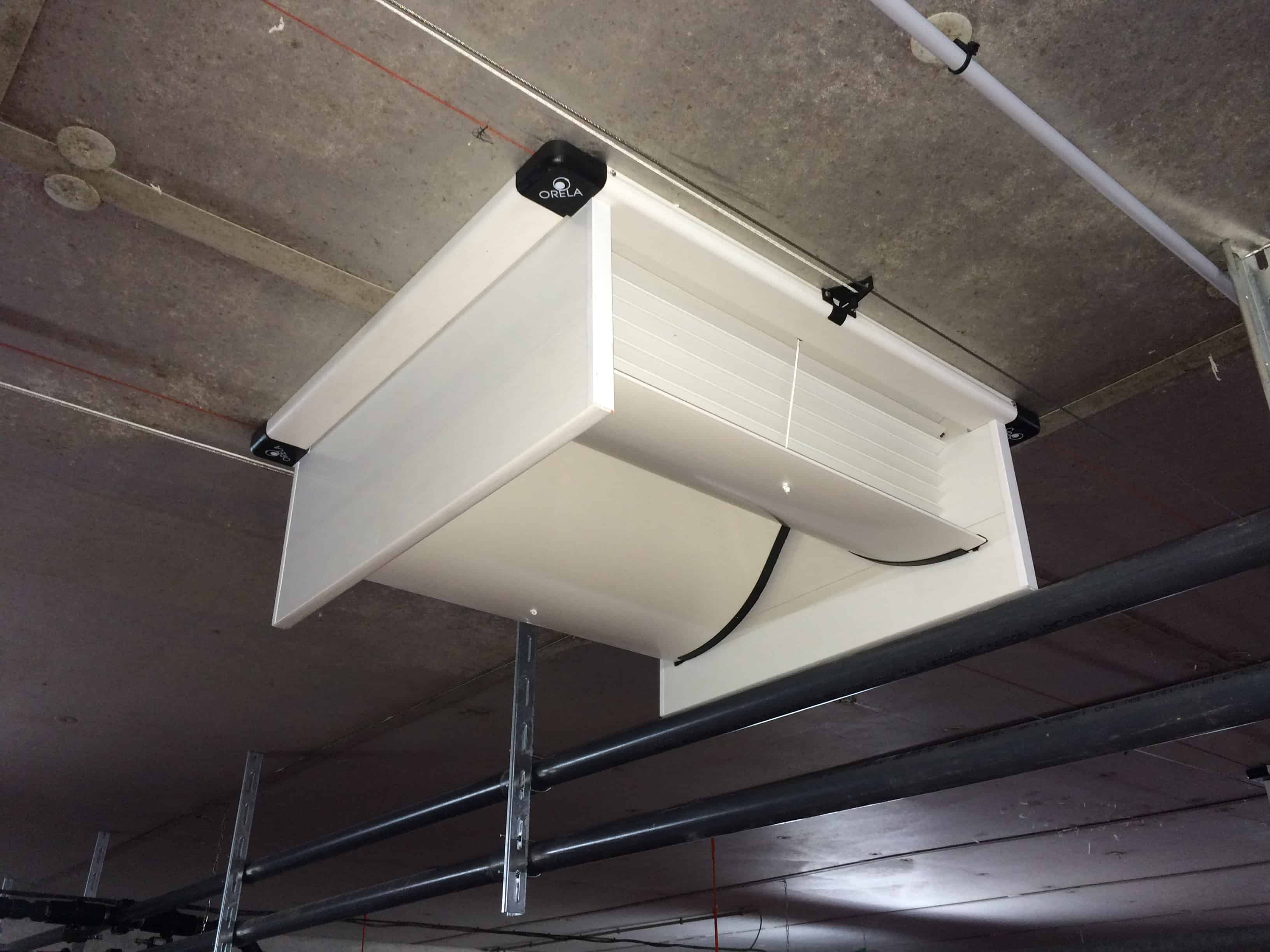 Trappes ventilation salles - Asserva