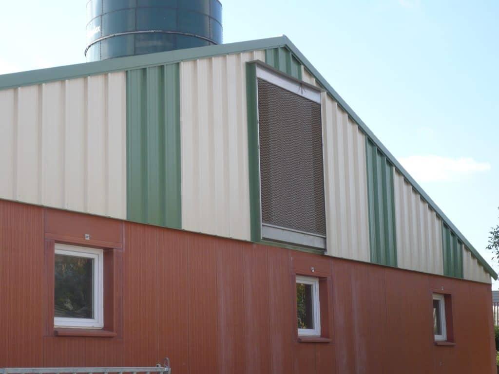 cooling - entrée d'air dans le bâtiment - Asserva