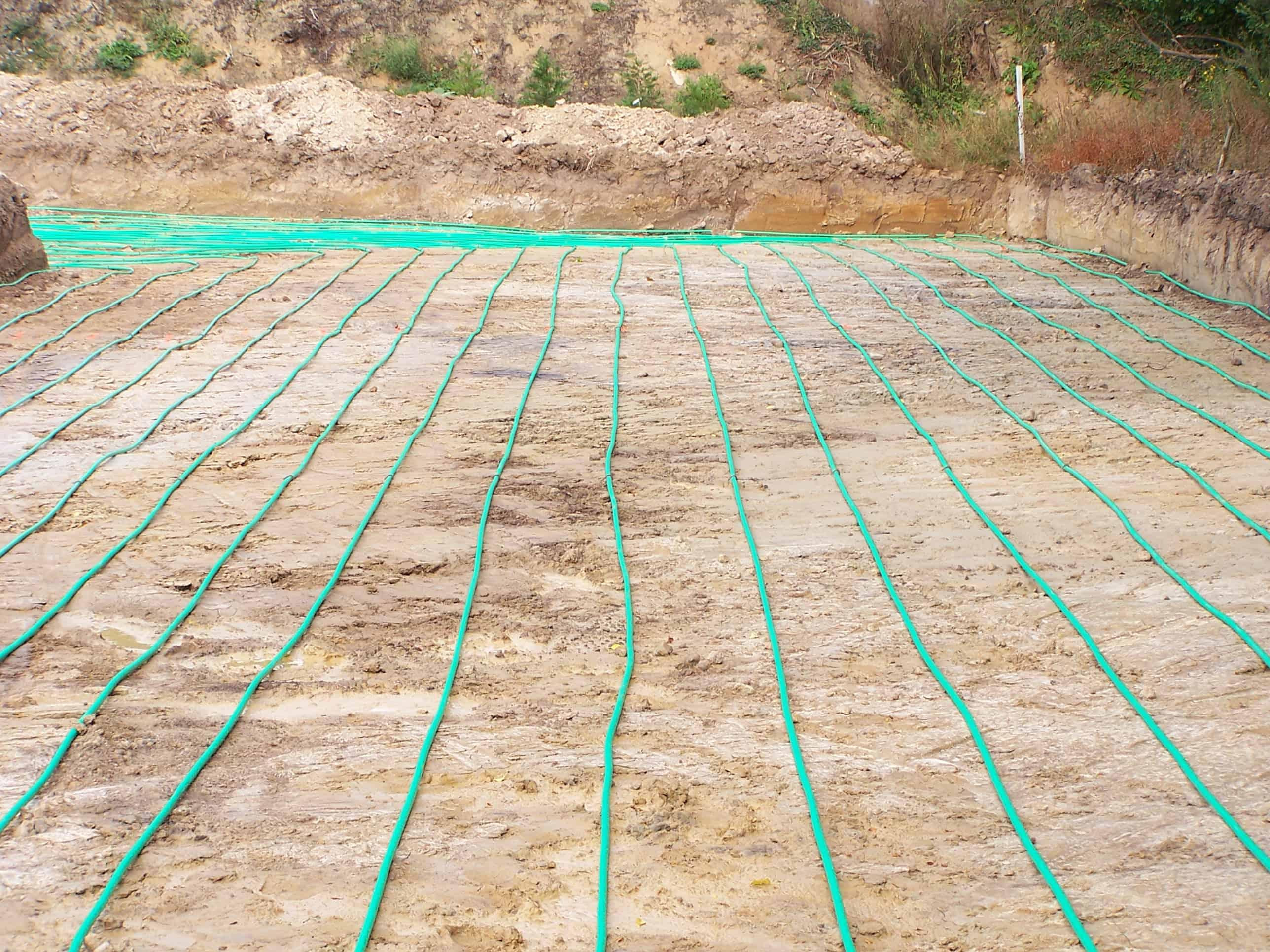 Géothermie - Captage horizontal - Asserva energies